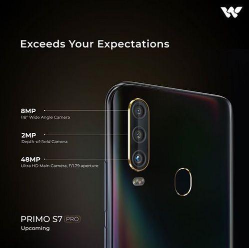 Walton Primo S7 Pro Camera