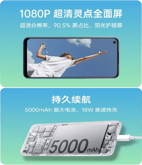 Oppo A52 Battery And Display