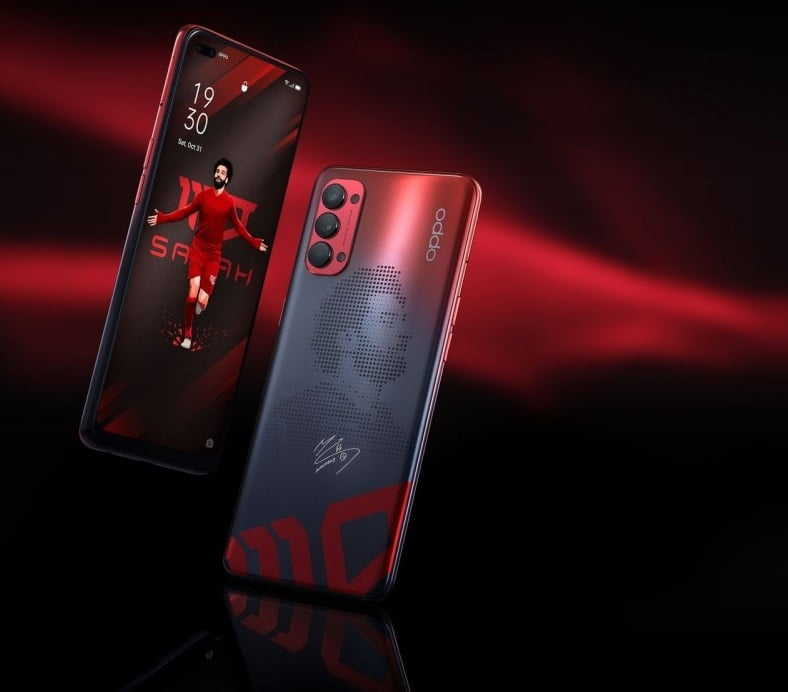 Oppo introduces Reno4 Mo Salah Edition With Quad Rear Cameras