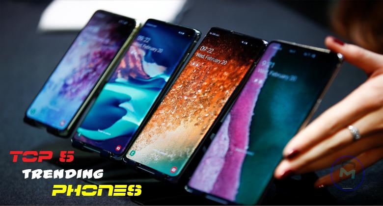 Photo of Top 5 trending phones of December 1st week in 2020 of Bangladesh.