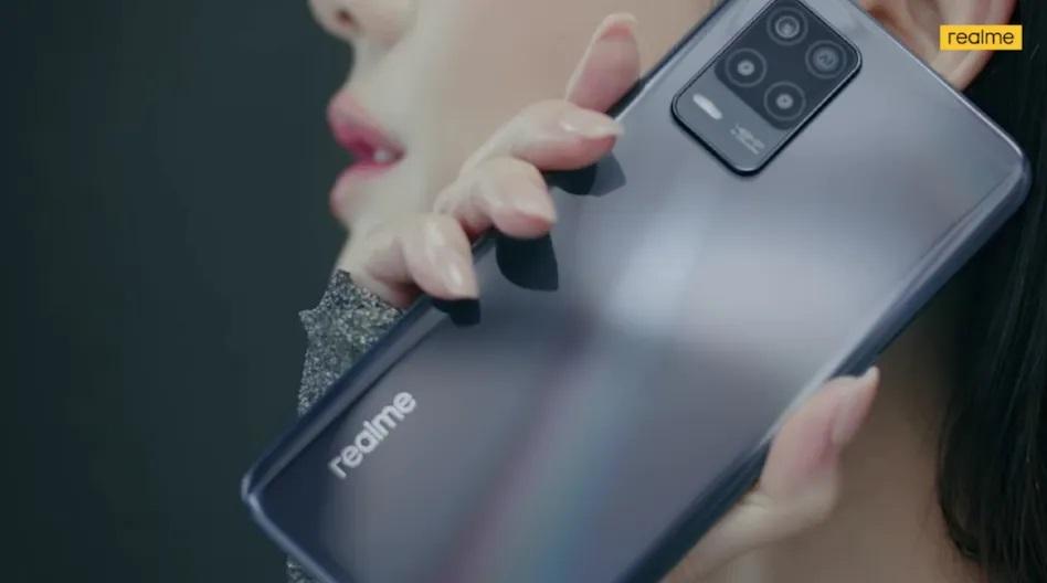 realme 8 5G display