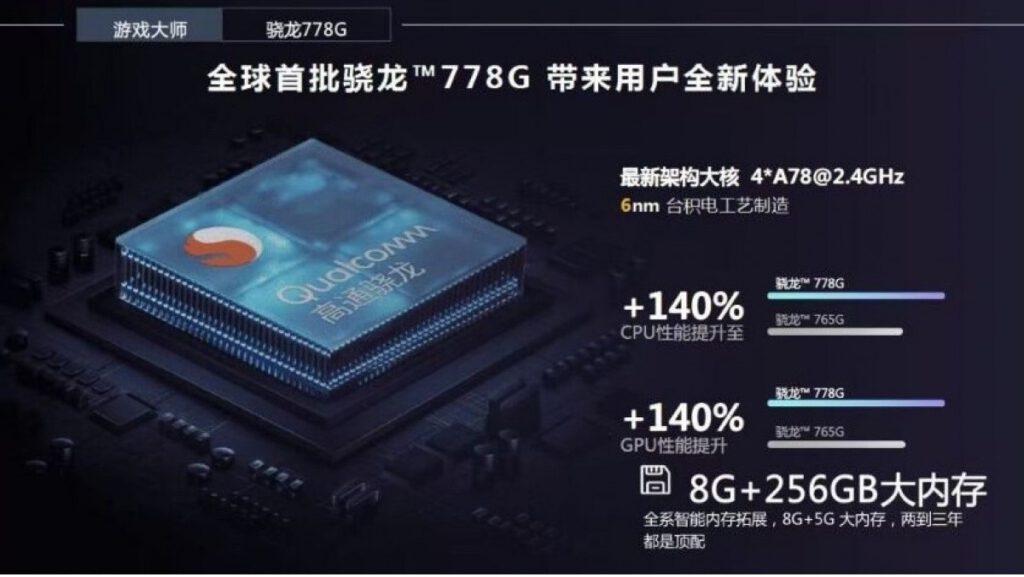 Realme GT Master Series chipset