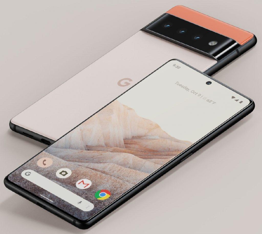 Google Pixel 6 front