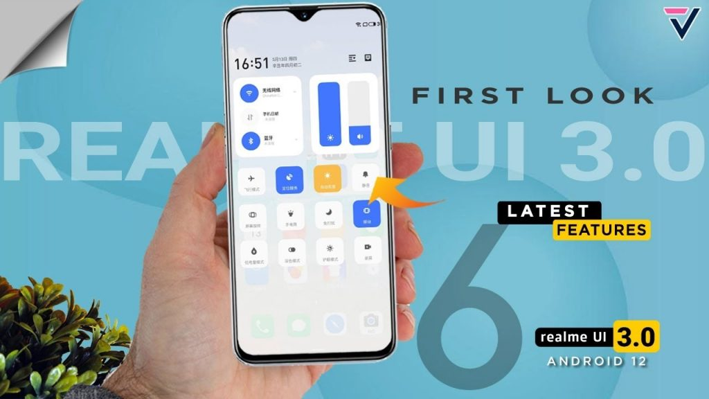 Realme UI 3.0 will come October 13 with Android 12, Realme GT first to get it